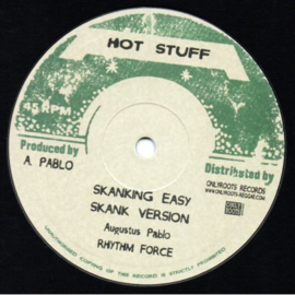 """Youth Dellinger / Augustus Pablo - Down Town Rock / Skanking Easy 10"""""""