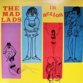 The Mad Lads - In Action CD