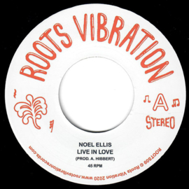 Noel Ellis - Live In Love 7""