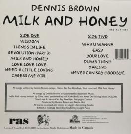 Dennis Brown - Milk And Honey LP