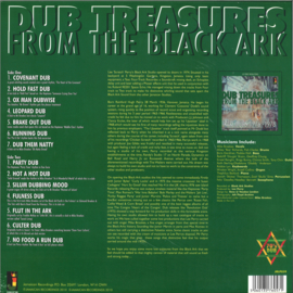 Lee Perry - Dub Treasures From The Black Ark - Rare Dubs 1976-1978 LP