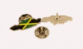 Jamaica - metal pin