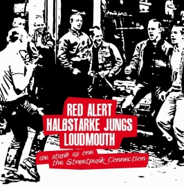 "Red Alert / Halbstarke Jungs / Loudmouth - We Stand As One 10"" LP"