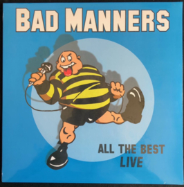 Bad Manners - All The Best Live LP