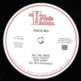 """Bob Andy - Set Me Free 12"""""""