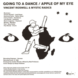 """Vincent Roswell & Mystic Radics - Going To A Dance / Apple Of My Eye 12"""""""