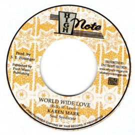 "Karen Mark - World Wide Love 7"""