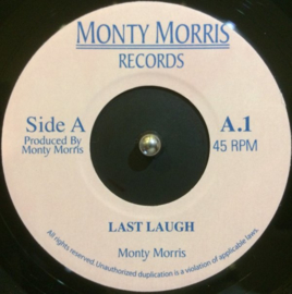 Monty Morris - Last Laugh / You Really Got A Hold On Me 7""
