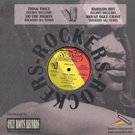 "Delroy Williams - Think Twice / Babylon Boy 12"""