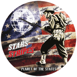 Stars And Stripes - Planet Of The States LP (picture disc + Poster + Patch)