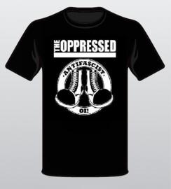The Oppressed - Antifascist Oi! Girlie Shirt (M)