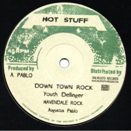 Youth Dellinger / Augustus Pablo ‎- Down Town Rock / Skanking Easy 10""