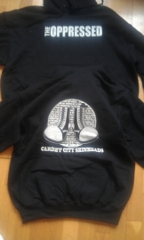Oppressed, The - Cardiff City Skinheads Hooded Sweater