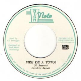 """Novelette Barnett - Fire De A Town 7"""""""
