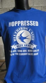 Oppressed, The - Blue Army Girlie Shirt