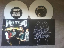 Surgery Without Research / No Man's Land - split EP