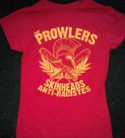 Prowlers, The - Skinhead AntiRaciste Girlie-Shirt