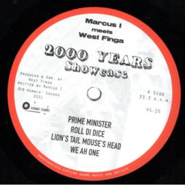Marcus I meets West Finga - 2000 Years Showcase LP