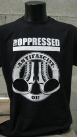 Oppressed, The - Antifascist Oi! Girlie Shirt (M)