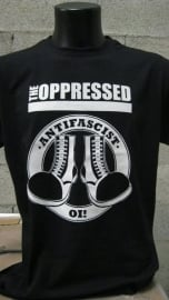 The Oppressed - Antifascist Oi! Shirt (XXL)