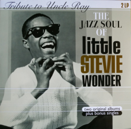 Stevie Wonder - Tribute To Uncle Ray / The Jazz Soul Of Little Stevie DOUBLE LP