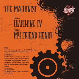 Machinist, The - The Machinist 7""