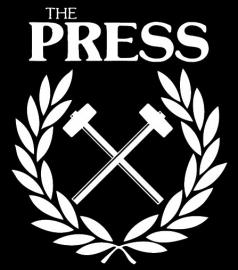 Press, The - Anaheim Punks Benefit T-Shirt