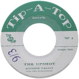 "Johnny Valuti / The Skatanauts - The Upshot / Barefoot Boy 7"""