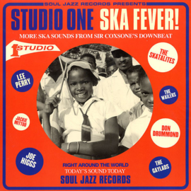Various - Studio One Ska Fever! DOUBLE LP
