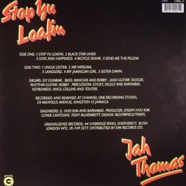Jah Thomas - Stop Yu Loafin LP