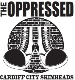 Oppressed, The - Cardiff City Skinheads T-Shirt (olive green)