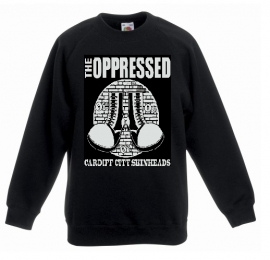 Oppressed, The - Cardiff City Skinheads Sweater