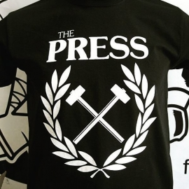 Press, The - Anaheim Punks Benefit T-Shirt