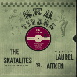 Laurel Aitken & The Skatalites - Ska Titans LP