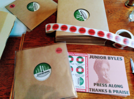 """Junior Byles - Press Along / Thanks And Praise 12"""""""