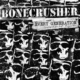 Bonecrusher ‎- Every Generation LP + CD
