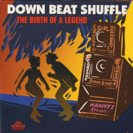 Various - Down Beat Shuffle: The Birth Of A Legend DOUBLE LP