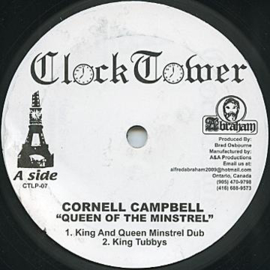 Cornell Campbell ‎- Queen Of The Minstrel 10""
