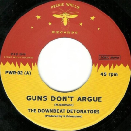 "The Downbeat Detonators - Guns Don't Argue / Reggae Boomshot 7"""