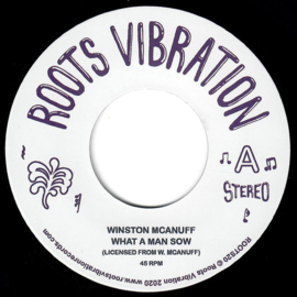 """Winston McAnuff - What A Man Sow 7"""""""