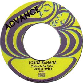 "Junior Byles - Lorna Banana 7"""
