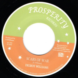 Delroy Williams ‎- Scars Of War 7""