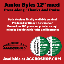 Junior Byles - Press Along / Thanks And Praise 12""
