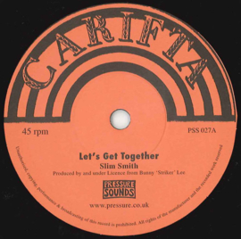 """Slim Smith / The Webber Sisters - Let's Get Together / My World 7"""""""