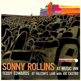 Sonny Rollins / Teddy Edwards With Joe Castro - At Music Inn / At Falcon's Lair LP