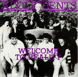 """Adolescents - Welcome To Reality 10"""" EP"""