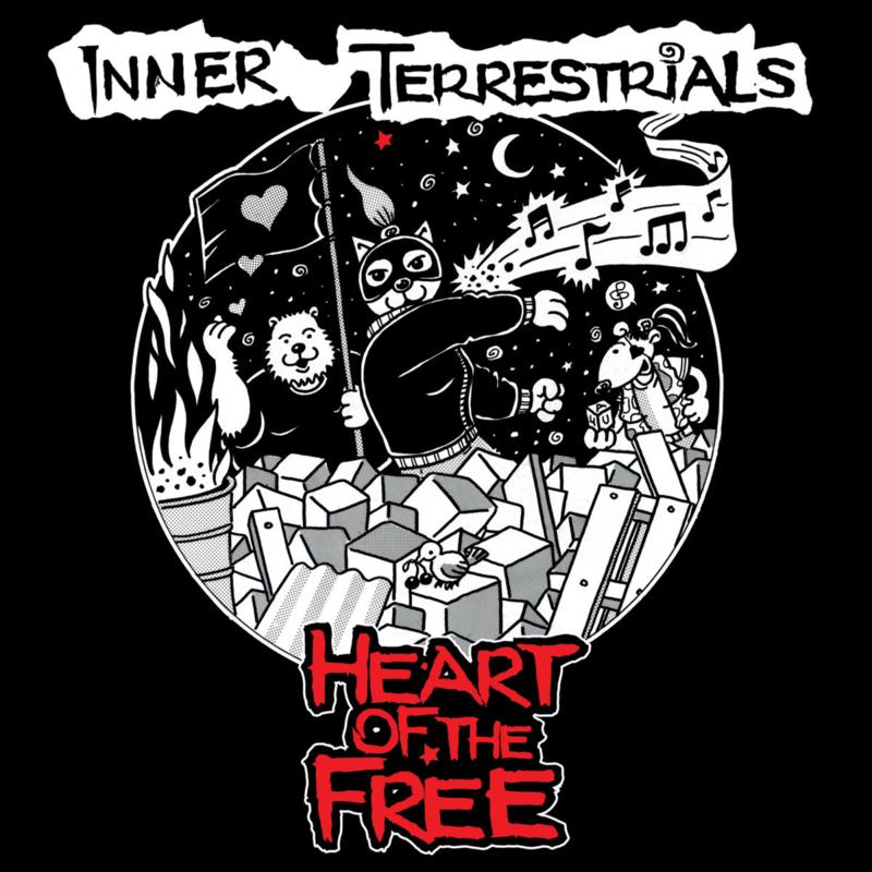 Inner Terrestrials - Heart Of The Free LP