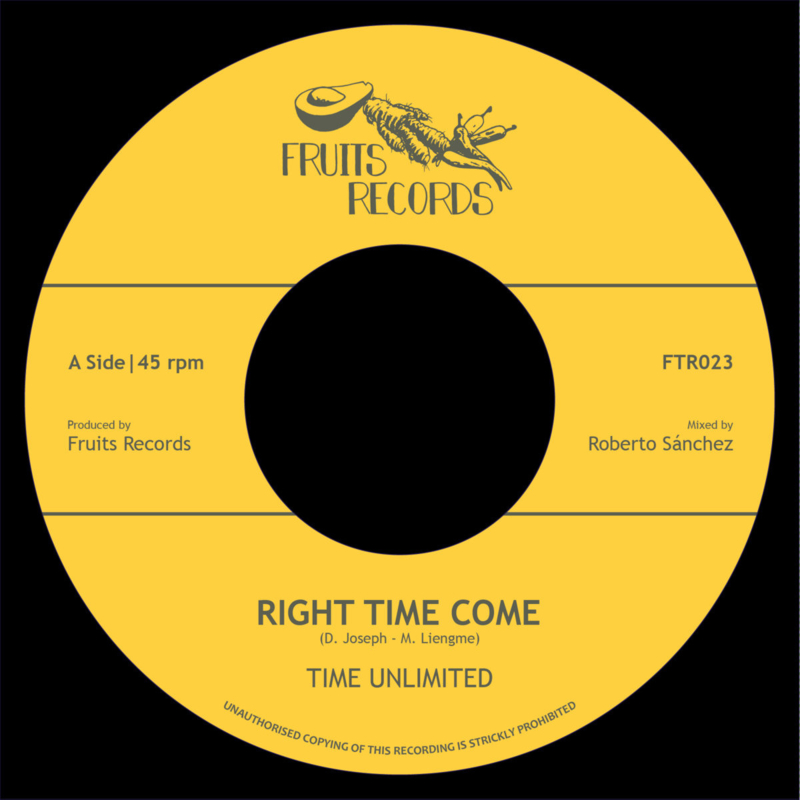 """Time Unlimited - Right Time Come 7"""""""