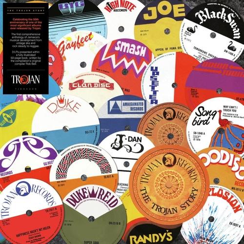 Various - Trojan Story Box (book + 3 LP's)