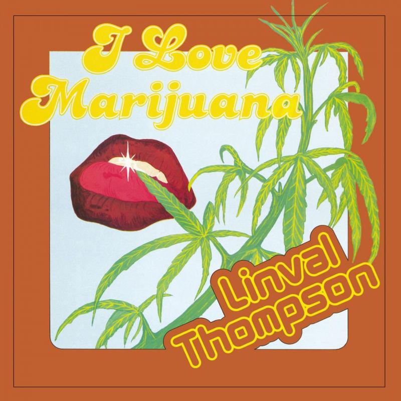 Linval Thompson - I Love Marijuana LP